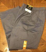 NWT SCRUBSTAR WOMANS MENS Unisex Pull On Scrub Pants Gray Pockets Size 2X NEW