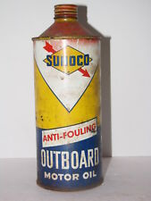 VINTAGE SUNOCO OUTBOARD OIL CAN EMPTY