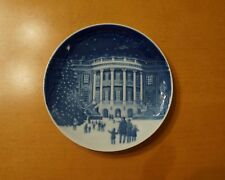 """B&G 1987 Christmas at the Whitehouse """"Christmas in America"""" Collector Plate"""