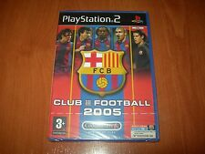 FC BARCELONA CLUB FOOTBALL 2005 PS2 (PAL ESPAÑA PRECINTADO)
