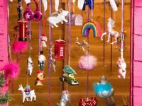 Hanging Christmas Tree Decoration Curios Baubles+Unicorn christmas tree ornament
