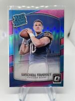 2017 Panini Donruss Optic Pink Prizm Mitchell Trubisky 178 Chicago Bears 🔥🔥🔥