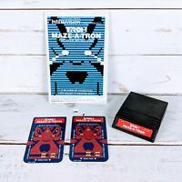 Intellivision Tron Maze-A-Tron by Mattel Electronics 1982 Video Game