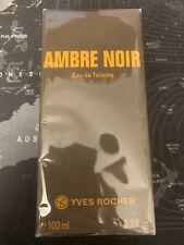 Yves Rocher Ambre Noir Eau de Toilette 100ml - *Neu*