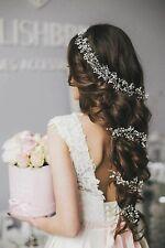 Wedding Hair Vine Bridal Accessory Bridal Headpiece Handmade Pearls Crystal