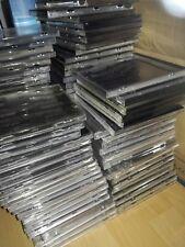 50 CD Leerhüllen, gebraucht,guter Zustand,Jewel Case,black & clear