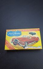 Ideal Vintage 1950s 2 Precision Miniatures Model Kits Ferrari / Jaguar Slot Car