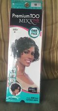 """Premium Too Mixx Multi Curl Used """"9 """"3 """"6 Missing 6 Inch Bubbly Short Style 1b"""