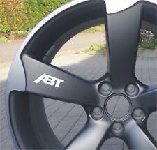 6x AUDI abate ADESIVI per ruote Emblema Logo RS-line q7 TT r8 as5 as6 as4 as3 VW
