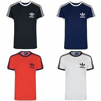 ADIDAS ORIGINALS CALIFORNIA TEE MEN'S WHITE BLACK NAVY RED S M L XL