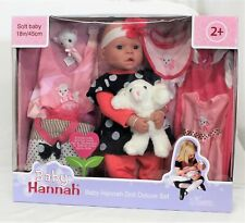 Baby Hannah Doll Deluxe Set