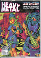 Heavy Metal Magazine #276A JACK KIRBY / BARRY IRA GELLER SIGNED - HIGHEST GRADE