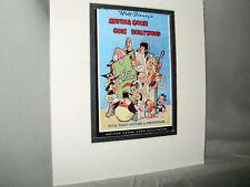 Walt Disney Mother Goose Goes Hollywood Cartoon Poster