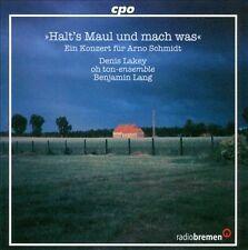 Concert for Arno Schmidt, New Music