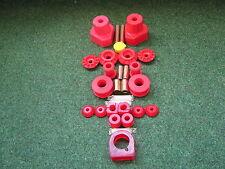 Golf 3 VR6 Achs-Set A PU rot 82shore  Polyurethan Buchsen Lager
