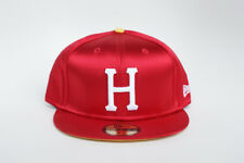 VINTAGE HUF 7 & 5/8  RED & YELLOW SATIN NEW ERA 59FITY LIMITED FITTED HAT NWT