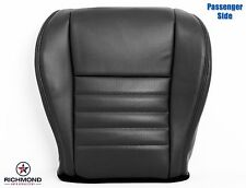 1999-2004 Ford Mustang Saleen S281 -Passenger Bottom Leather Seat Cover Black