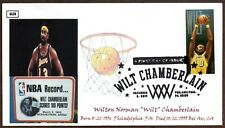 2014 WILT CHAMBERLAIN STAMP FIRST DAY CANCEL ~ GLEN CACHETS 2 COVERS