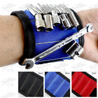 Magnetic Wristband Holder Belt Screws Tools Nuts Nails Bolts Pouch Bag Toolkit