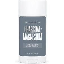 SCHMIDT'S - Natural Deodorant Stick Charcoal + Magnesium - 3.25 oz. (92 g)