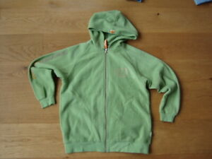 * Coole grüne Fleece Weste Port Louis Gr. 140/146 - Jungs *