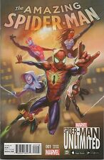 AMAZING SPIDER-MAN #1 (2015) UNLIMITED GAME VARIANT NEAR MINT FIRST PRINT
