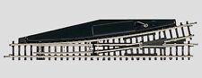 Märklin voie Z 8565 Aiguillage manuel à gauche Longueur 110 mm. 13° . Rayon 490