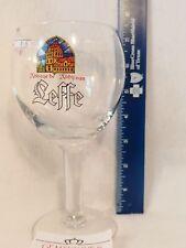 VINTAGE BELGIAN Beer Glass LEFFE