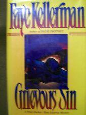 GRIEVOUS SIN FAYE KELLERMAN A PETER DECKER & RINA LAZARUS MYSTERY 1993 HC 1st ED