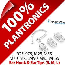 Plantronics Ear Loop/Hook + Tips Gels for 925 975 M25 M55 M70 M75 M90 M95 M155