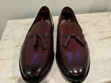 Allen Edmonds Burgundy Grayson Shell Cordovan Tassel Loafers 11.5eee 3e 8287