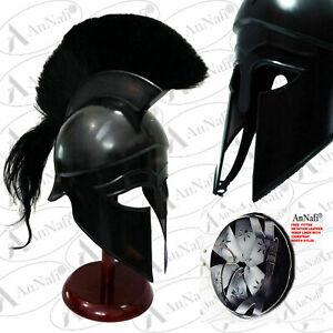 Greek Corinthian Helmet Ancient Medieval Armor Knight Spartan Replica Helmet