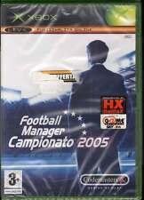 Football Manager Campionato 2005 Videogioco XBOX Sigillato 5024866325843