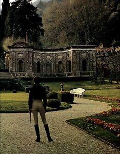 1976 Helmut Newton Villa d'Este Lake Como Italy Gardens Art Photo Engraving
