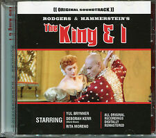 THE KING & I CD, YUL BRYNNER, DEBORAH KERR & RITA MORENO, ORIGINAL RECORDINGS