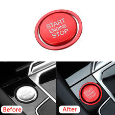 2x Engine Start Stop Push Switch Button Cover Trim Ring For VW Golf 7 MK7 Jetta