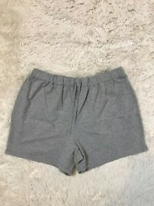 MOTHERHOOD MATERNITY Heather Gray Lounge Comfy Stretch Shorts XL