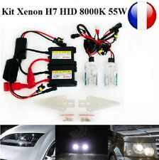 KIT XENON H7 SLIM BALLAST CANBUS 55W 8000K HID FEUX PHARE LED CONVERTION TUNING