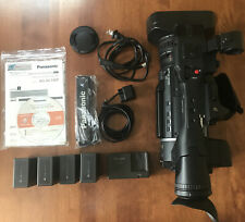 Panasonic Ag-Ac130P Avchd Camcorder & Accessories