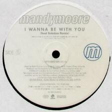 """MANDY MOORE I Wanna Be With You  12"""" Soul Solution Remix Extd Mix/Soul Solution"""