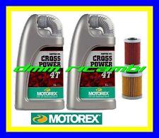 Kit Tagliando KTM 690 DUKE LC4 SMR SMC + Filtri Olio MOTOREX Cross Power 10W60
