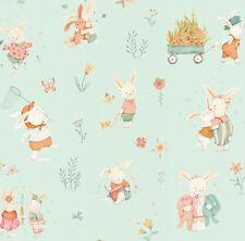 Bunny Tales - Studio E - FQ, Half Metre,  Metre 100% cotton
