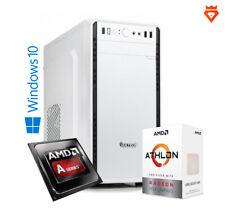 PC DESKTOP AMD ATHLON 200GE 8GB DDR4 HDD 500GB GAMING RADEON VEGA WINDOWS 10 PRO