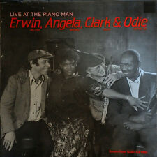 "Erwin Angela Clark Odie Live at The Piano Man 1984 Denmark stereo 12"" 33rpm (nm)"