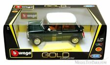 Bburago 1969 MINI COOPER Diecast Car 1:18 18-12036  GREEN Color with White Top