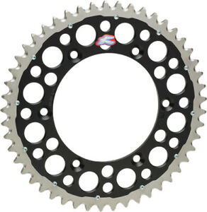Renthal TwinRing Rear Sprocket 51 Tooth Black HONDA CR125R CR250R CR500R etc 51
