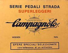 NOS Campagnolo 1037 A Superleggeri Alloy Pedals  Vintage NIB w/screws