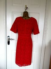 "NEW W.T. FABULOUS LACE OCCASION DRESS BY F&F UK-16 BUST 40"" HIPS 42"" LENGTH 39"""