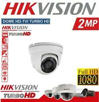 TELECAMERA DOME HD TVI HIKVISION TURBO 2.MP 1080P 3.6MM VISIONE NOTTURNA DS-T203