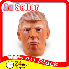 Donald Trump USA President Mask Party Cosplay Politician Halloween Costume Latex